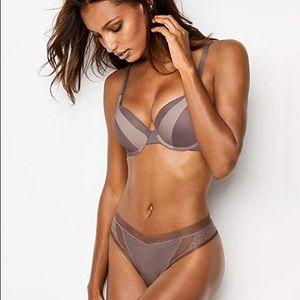 Victoria's Secret Perfect Shape Bra cocoa mesh